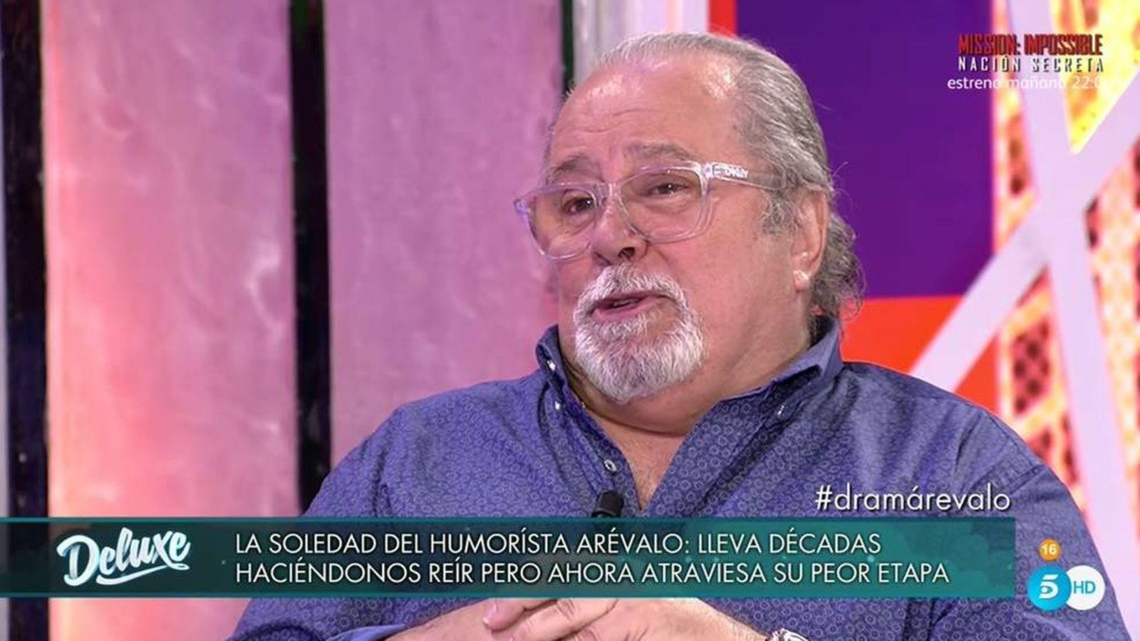 Foto: Arévalo en 'Sábado Deluxe'.