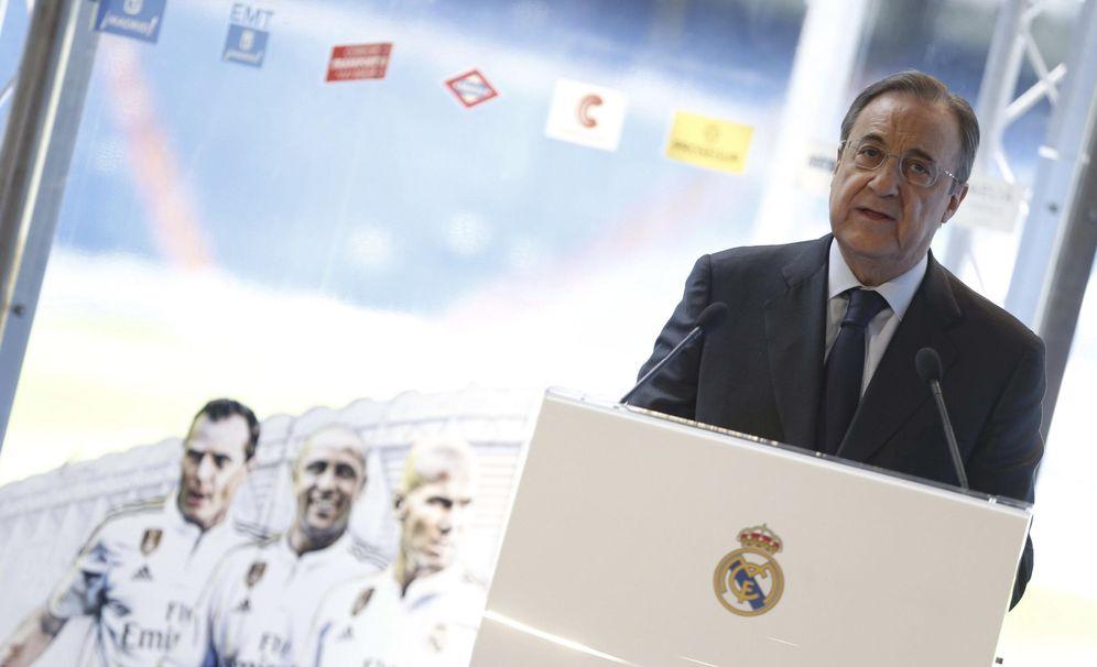 Foto: Una importante parte de la afición del Real Madrid culpa a Florentino Pérez del fracaso del equipo (EFE)