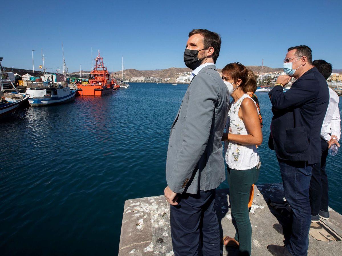 Foto: El presidente del Partido Popular, Pablo Casado. (EFE)