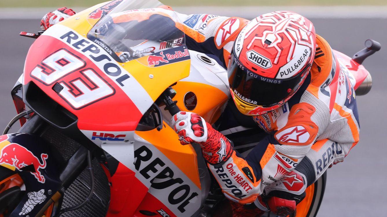 Márquez pasa de Rossi... y de todos: Seguiré yendo al límite