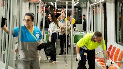 El uso del transporte público sigue aún a la mitad que hace seis meses