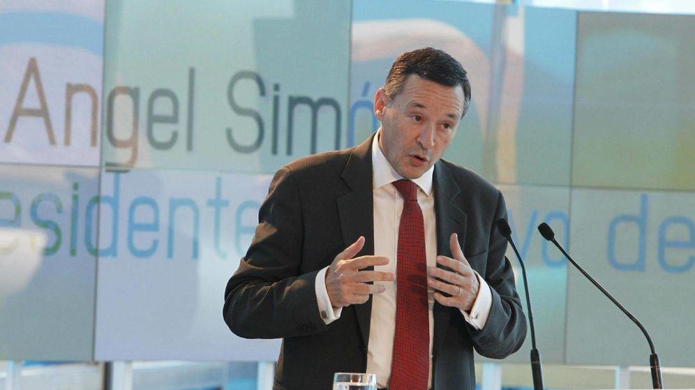 Foto: El presidente ejecutivo de Agbar, Ángel Simón. (EFE)