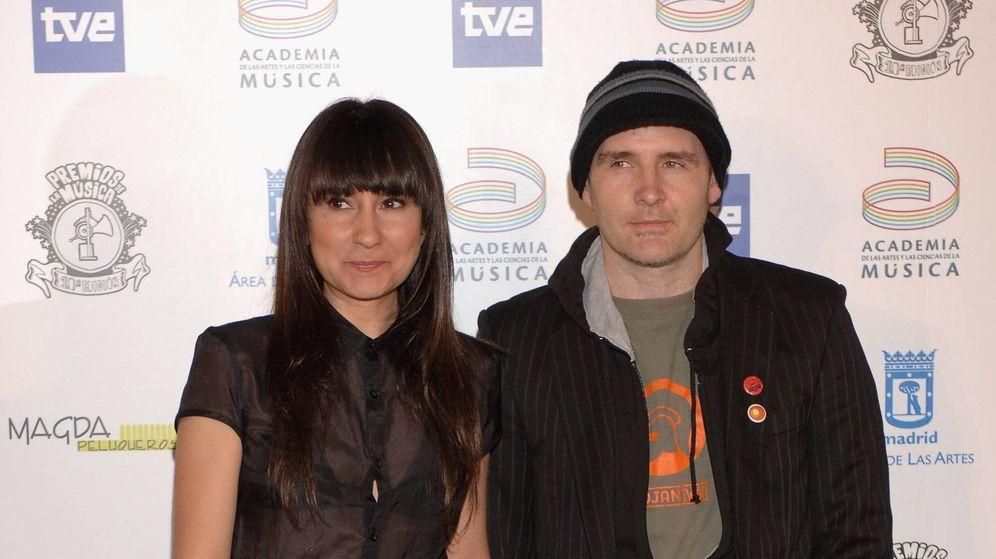 Foto: Eva Amaral y Juan Aguirre. (Getty)