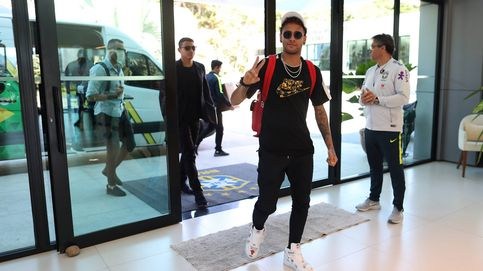 Neymar y su Brasil: llegada en helicóptero a la concentración... y al dentista