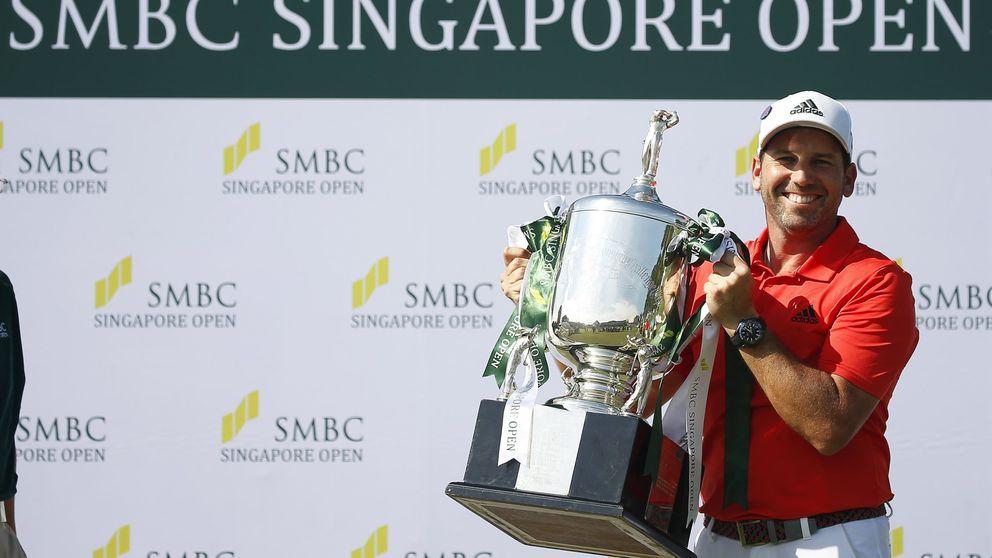 Sergio García empieza a lo grande el año con un espectacular triunfo en Singapur