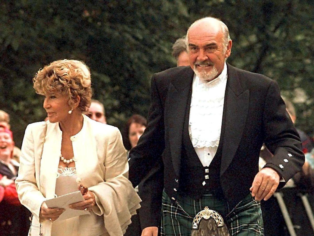 Foto: Sean Connery y a su mujer, Micheline Roquebrune en una imagen de archivo. (EFE)