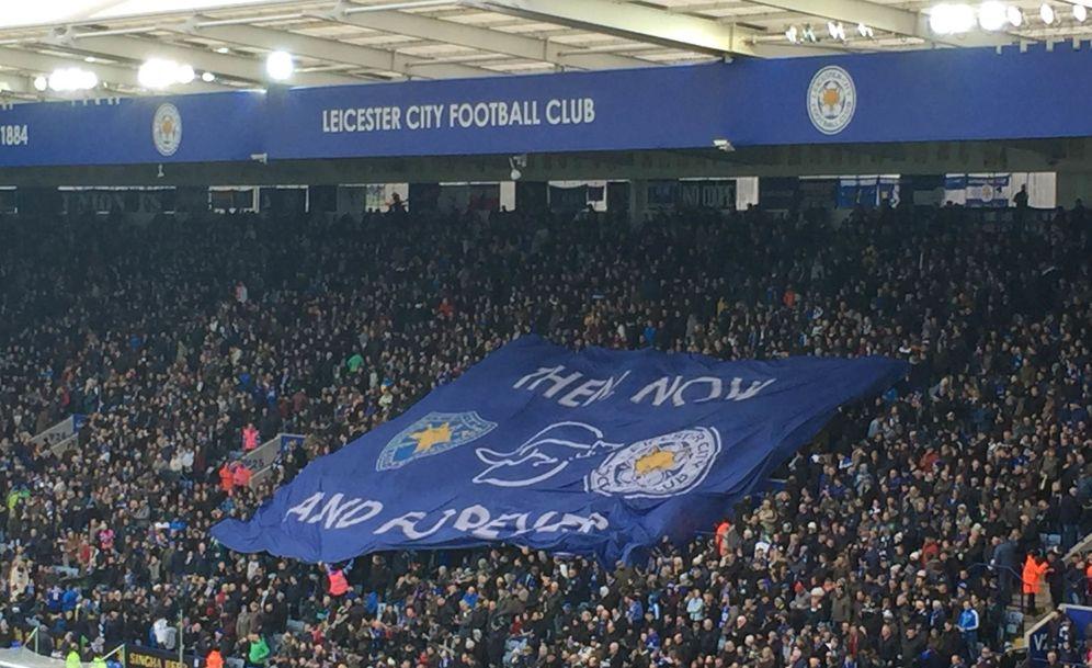Foto: Imagen de una de las gradas del estadio del Leicester City (FOTO: David Ruiz)