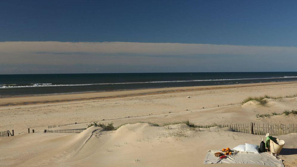 Foto: Praia Verde, una de las playas más desconocidas del Algarve.