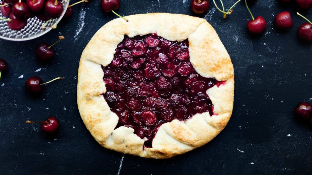 Receta: galette de cerezas, un postre de temporada
