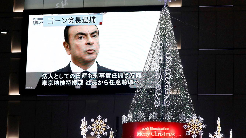 El consejo de administración de Nissan cesa a Ghosn como presidente