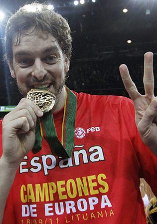 Foto: Sáez: Pau Gasol es feliz con España y no ha renunciado a jugar con la Selección