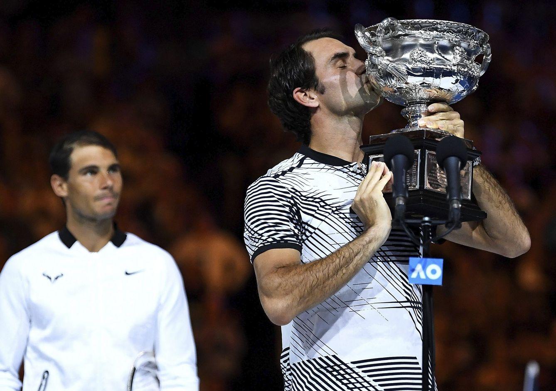 Foto: Las mejor imágenes de la histórica final entre Nadal y Federer