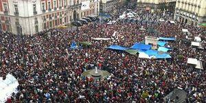 El 15M vuelve a las calles en una nueva jornada de protestas por Madrid