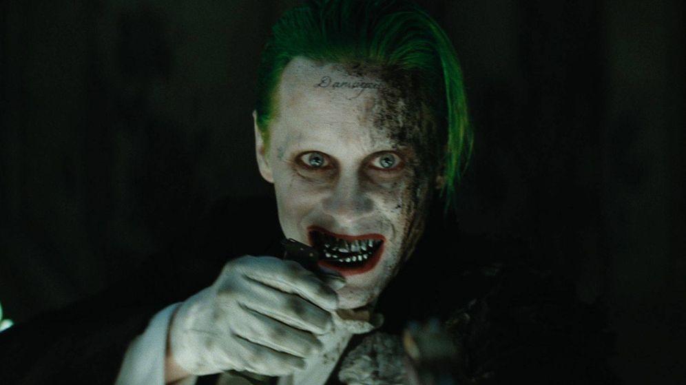 Foto: El actor Jared Leto caracterizado de 'Joker'