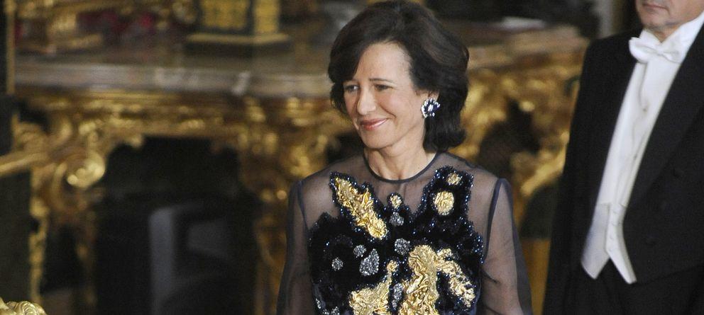 Foto: Ana Patricia Botín en una imagen de archivo en el Palacio Real (Gtres)