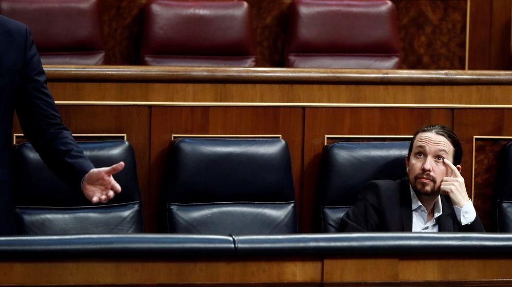 Foto: El vicepresidente segundo y ministro de Derechos Sociales, Pablo Iglesias. (EFE)