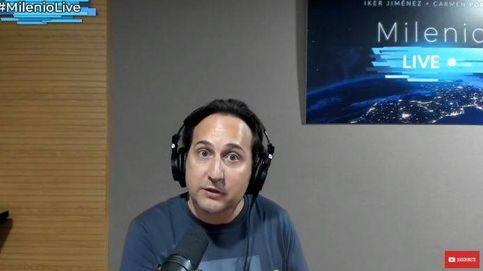 Iker Jiménez, agobiado por los datos del coronavirus: A veces no veo las noticias