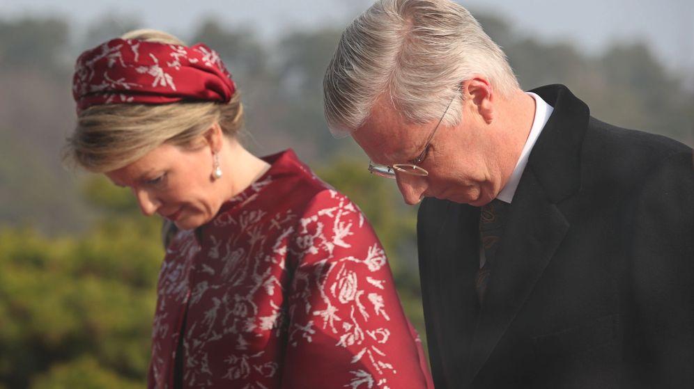 Foto: Felipe y Matilde de Bélgica en su reciente visita a Corea del Sur. (EFE)