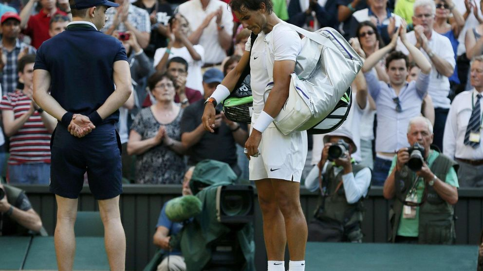 Rafa Nadal, desarmado en Wimbledon por un admirador de Bob Marley