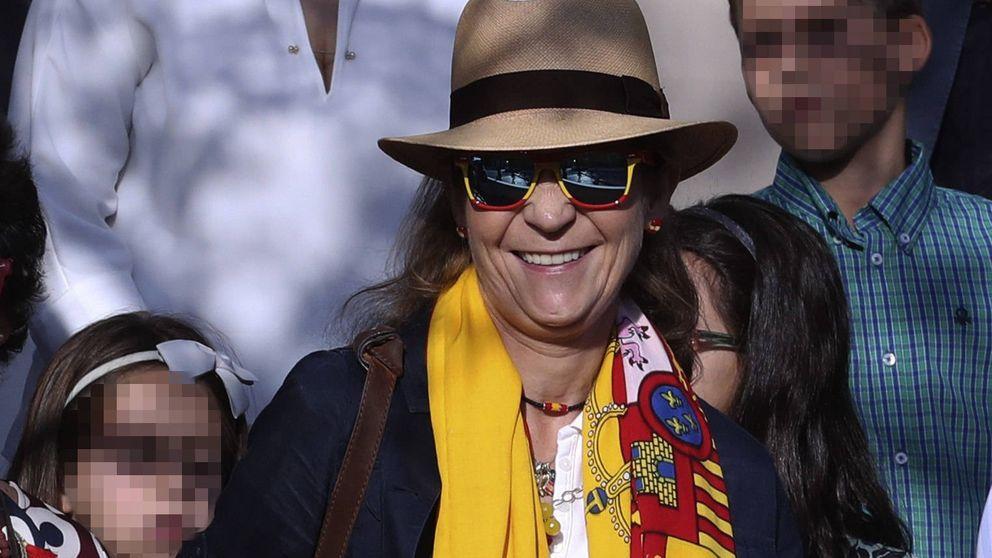 La infanta Elena, cada vez más 'desplazada' en la Fiesta Nacional
