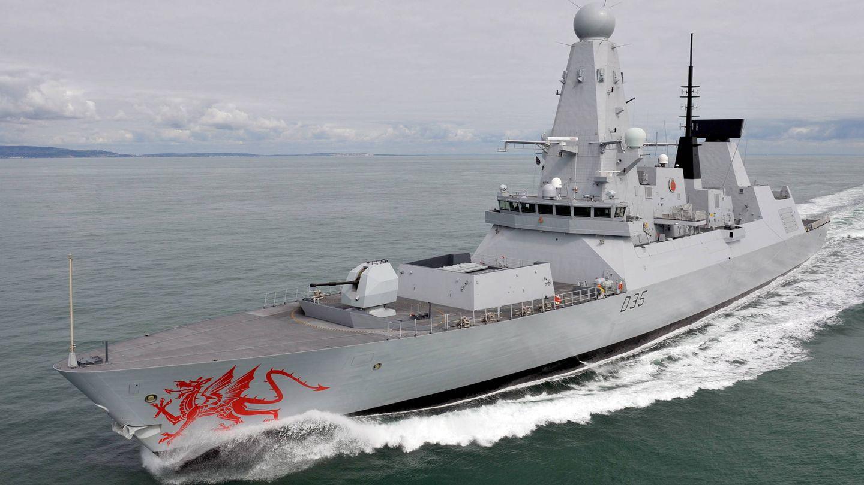 Destructor HMS Dragon del Type 45. (MOD)