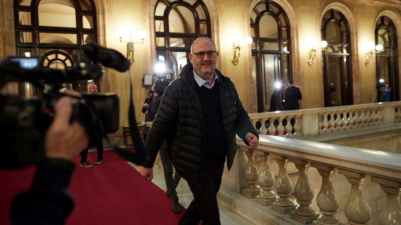 El portavoz de Junts per Catalunya, Eduard Pujol. (EFE)