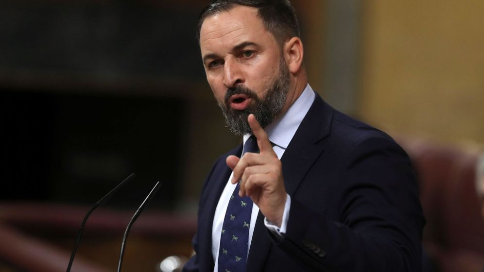 Foto: El líder de Vox, Santiago Abascal. (EFE)