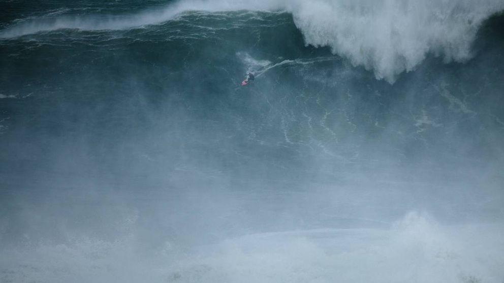 El surf muere. La preocupación del hombre que doma olas gigantes, Muniain