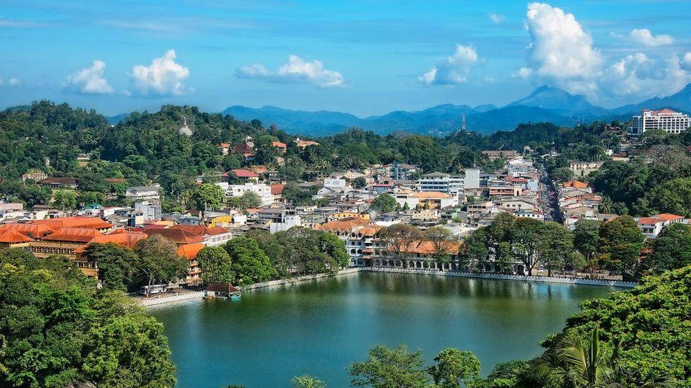 Foto: Kandy, en Sri Lanka.