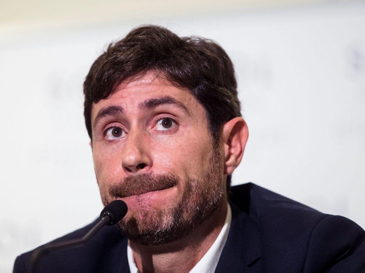 Foto: Víctor Sánchez del Amo, destituido como entrenador del Málaga (EFE)