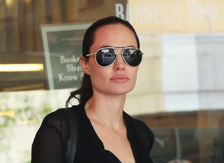 Foto: Los envidiables labios de Angelina