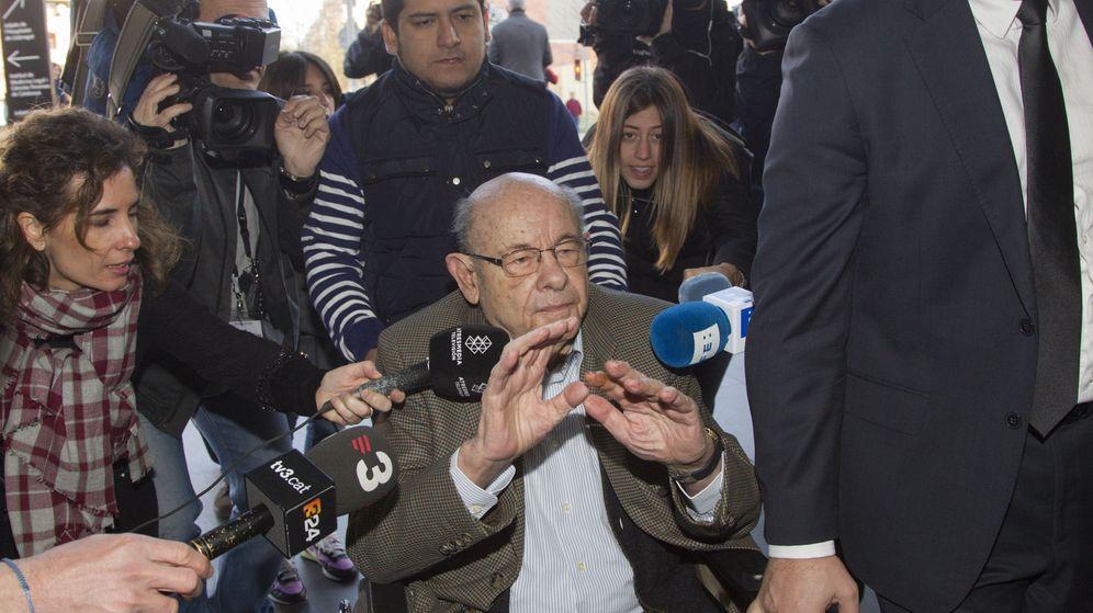 Foto:  El expresidente del Palau de la Música Fèlix Millet. (EFE)
