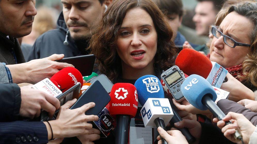 Foto: La presidenta del Gobierno regional, Isabel Díaz Ayuso. (EFE)