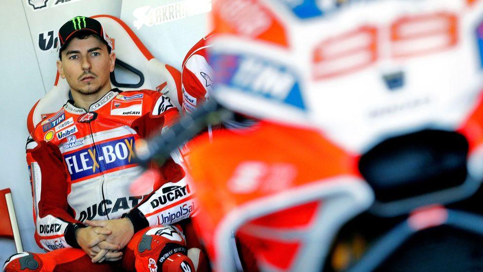 El tirón de orejas del jefe de Ducati a Lorenzo como advertencia para renovar
