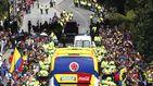 Colombia se da un baño de masas tras su eliminación en el Mundial