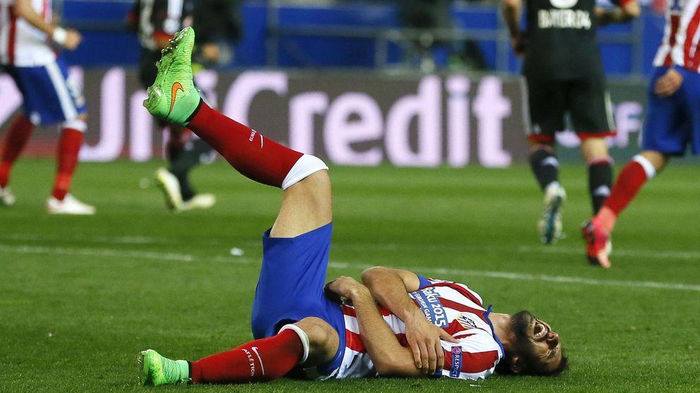 Al Atlético le salen caros los cuartos: Moyá, Mandzukic y Raúl lesionados