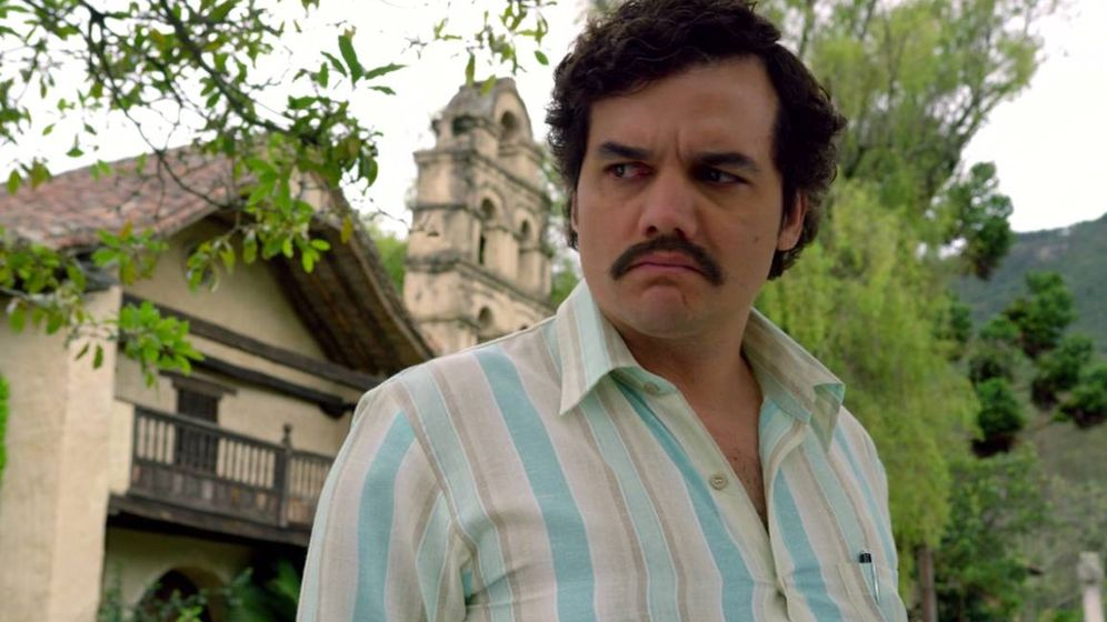 Foto: Al Pablo Escobar de 'Narcos' no se le cae de la boca el hijueputa.