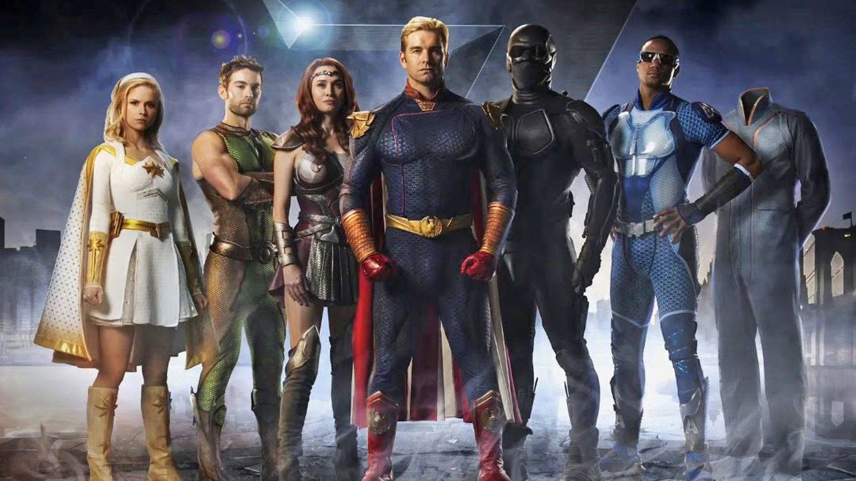The Seven, el grupo de superhéroes corruptos de 'The Boys'. (Amazon Studios)