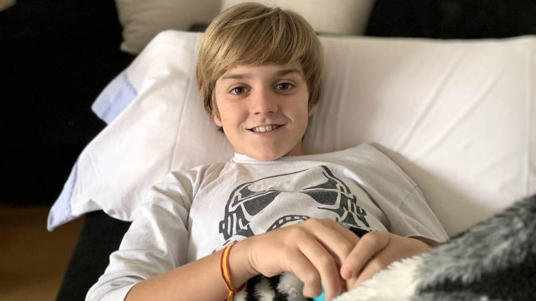 Lucas, el niño español que enfermó del covid como un adulto y lo describió en una carta