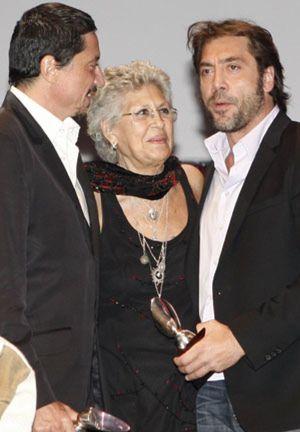 La saga Bardem triunfa en los premios de la Unión de Actores