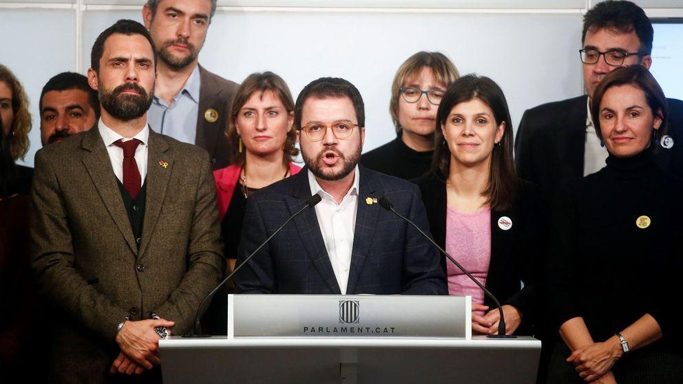 Grupos radicales llaman a sitiar la sede de ERC para que no apoye la investidura