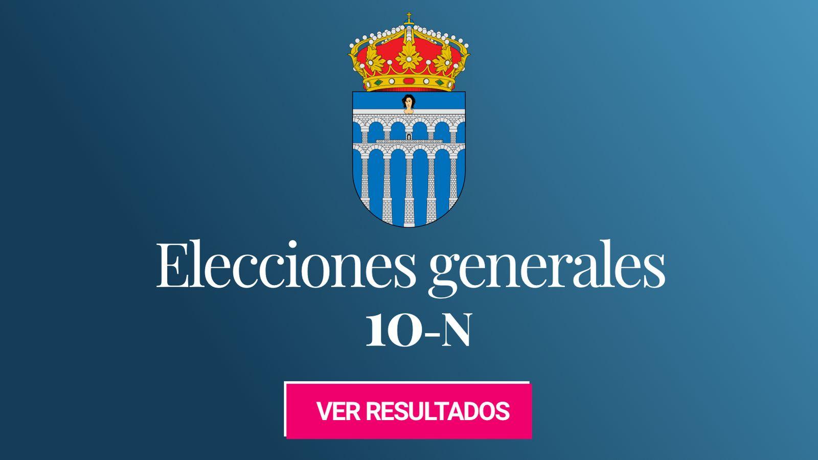 Foto: Elecciones generales 2019 en Segovia. (C.C./EC)