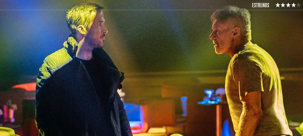 Foto: Ryan Gosling y Harrison Ford, en 'Blade Runner 2049'. (Sony Pictures)