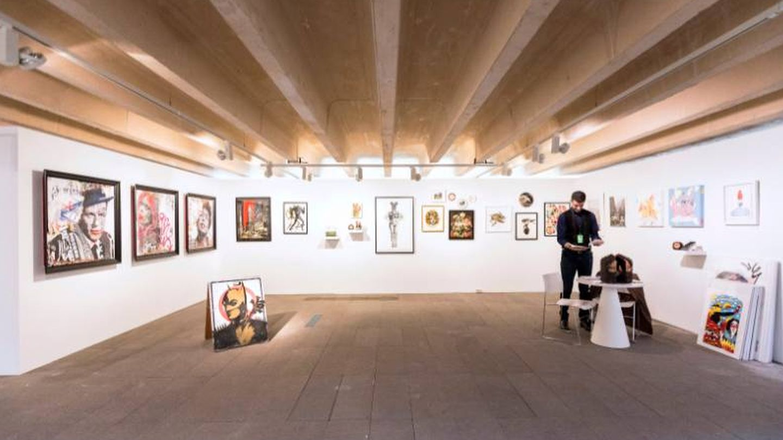 Un momento de Urvanity, la feria de nuevo arte contemporáneo. (Foto: Cortesía)