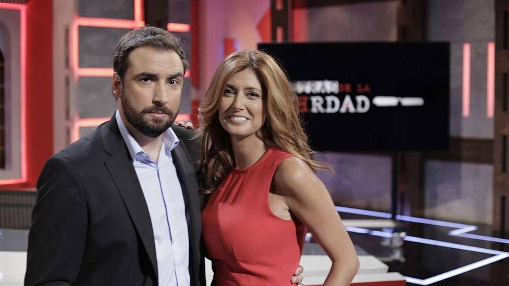 Foto: Los presentadores de 'Detrás de la verdad'. (Trece)