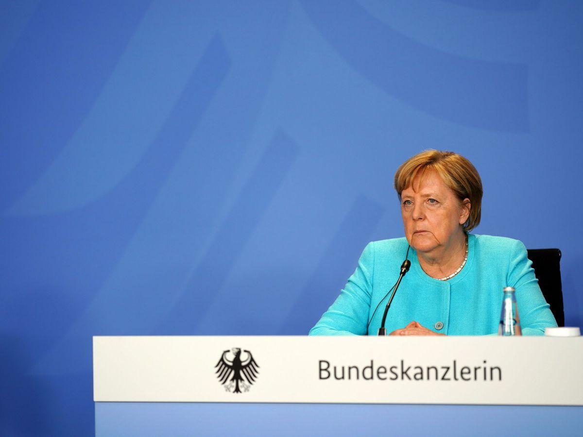 Foto: La canciller alemana Angela Merkel.