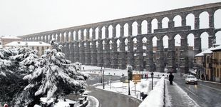 Post de Buscan a través de georradar el Canal Madre del Acueducto de Segovia