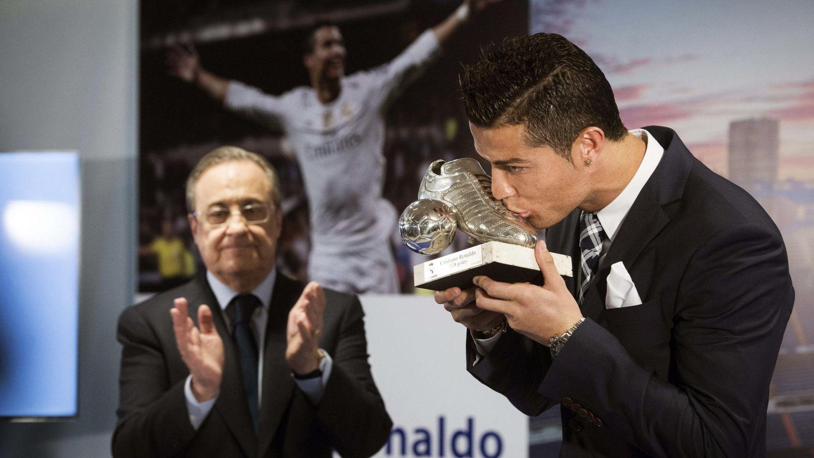 Foto: Las relaciones entre Florentino Pérez y Cristiano Ronaldo siempre estuvieron cargadas de tensión (EFE)