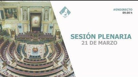 Siga en directo la sesión del control al Gobierno
