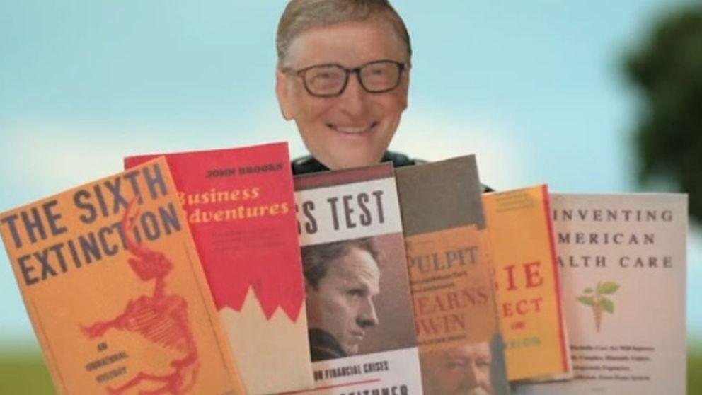 Los seis libros que tienes que leer este verano, según  Bill Gates